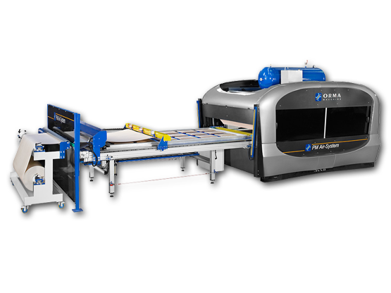 membrane press AUTOMATION 1 TRAYS